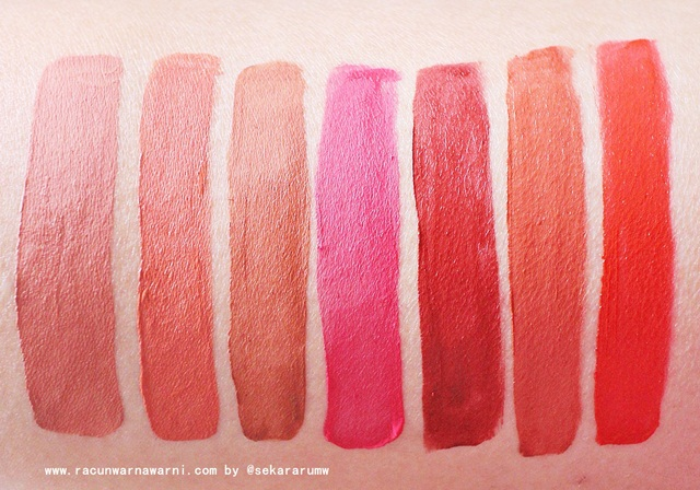 Swatch Lip Cream Mizzu