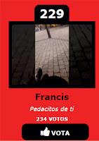 Para votar a Francis