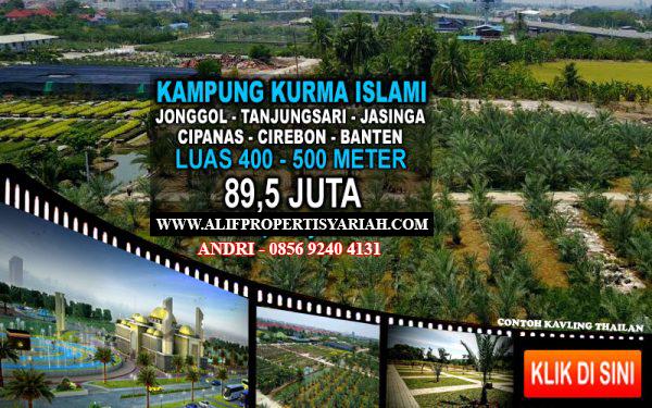 Tanah Kavling Kampung Kurma Cirebon, Investasi Tanah Kavling Siap Bangun Murah di Cirebon