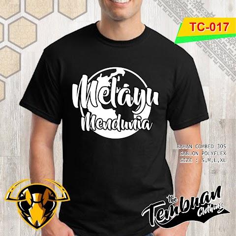 Tembuan Clothing - TC-017 (Melayu Mendunia)