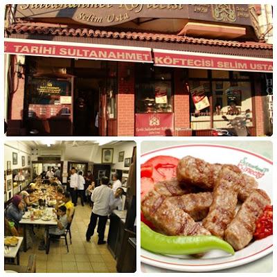 Historical Sultanahmet Meatball Restaurant