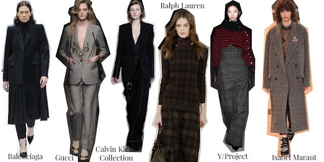 Balenciaga, Gucci, Calvin Klein, Ralph Lauren, Y/Project, Isabel Marant, Menswear, A/W 16, trends, designers