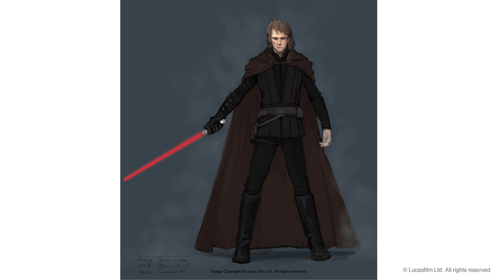 Film Sketchr Gorgeous Star Wars Episode Iii Revenge Of The Sith Concept Art By Sang Jun Lee