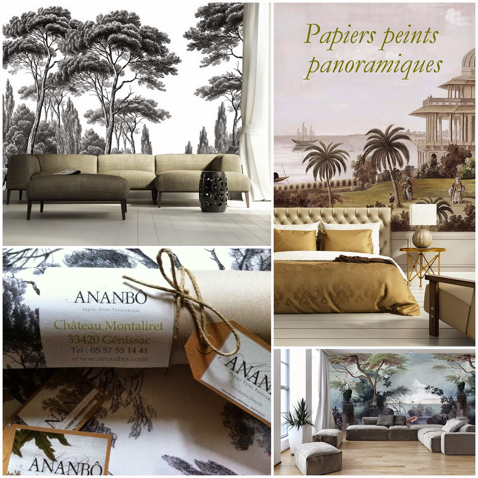 papier peint panoramique ancien. Black Bedroom Furniture Sets. Home Design Ideas