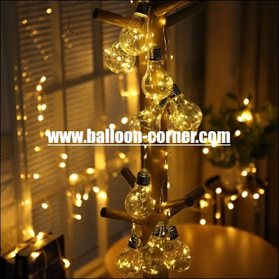 10 Clear Bulb LED Starry String Lights (HIGH QUALITY)