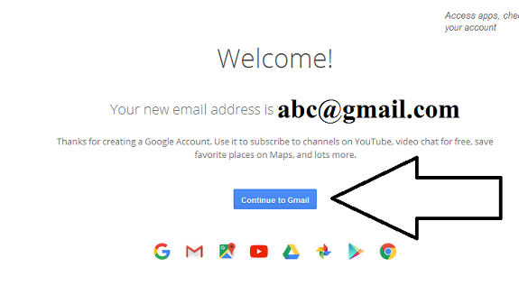 how to know when your gmail account was created