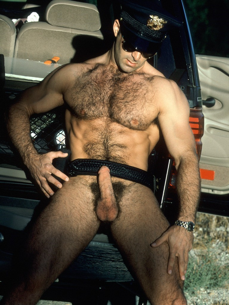 Hairy male gay cop pix only two daddies are