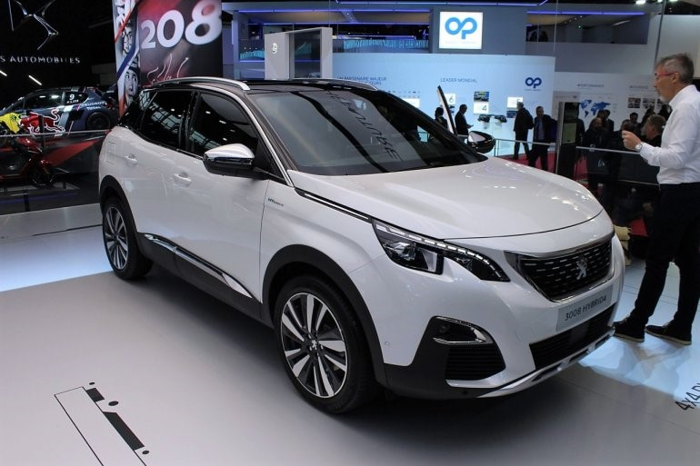 Peugeot 3008 Hybrid4 Ms Blog