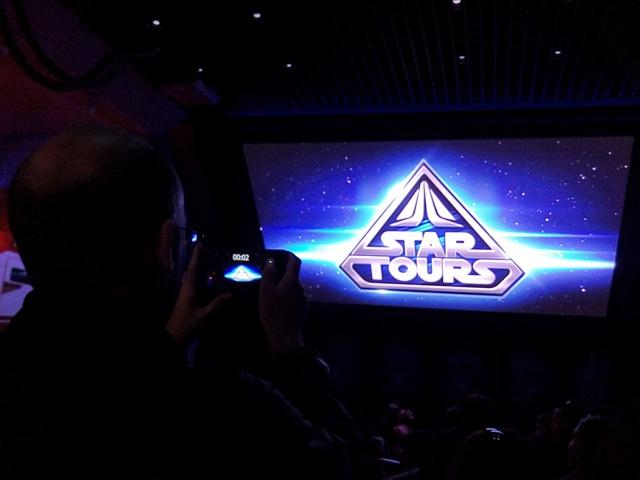 Star Tours en Disneyland París