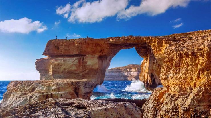Top 10 Wonders of the Mediterranean World - The Azure Window, Malta