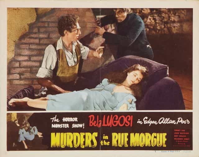 Murders in the Rue Morgue lobby card