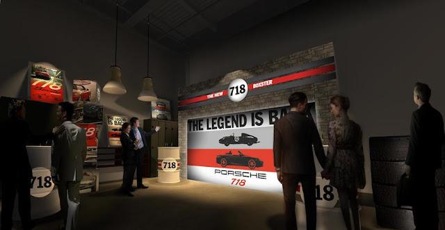 ポルシェ「718ボクスター・シークレットガレージを探せ」都内某所に2日間限定で秘密基地!