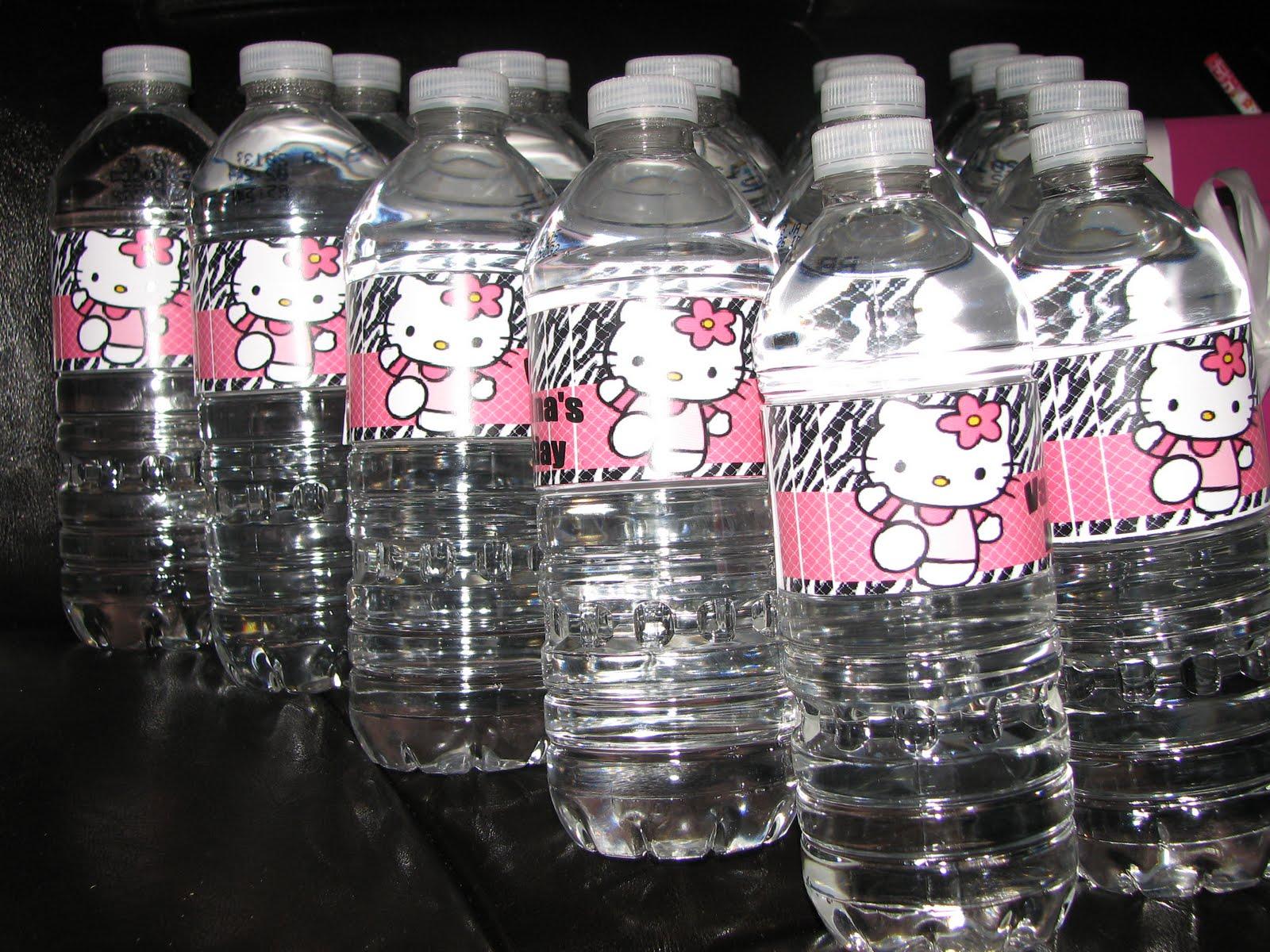 Hello Kitty Water Bottles
