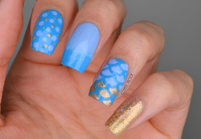 NAILS | BCD NAIL ART CHALLENGE WEEK 11 - The Blue Skittlette #BCDNAILS