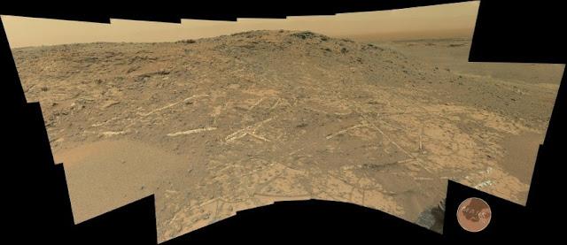 Curiosity Sol 944 Pahrump Hills