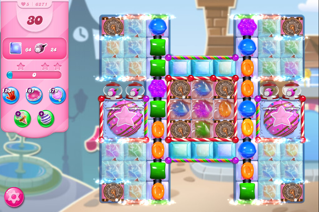 Candy Crush Saga level 6271