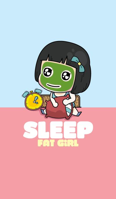 Sleep Fat Girl