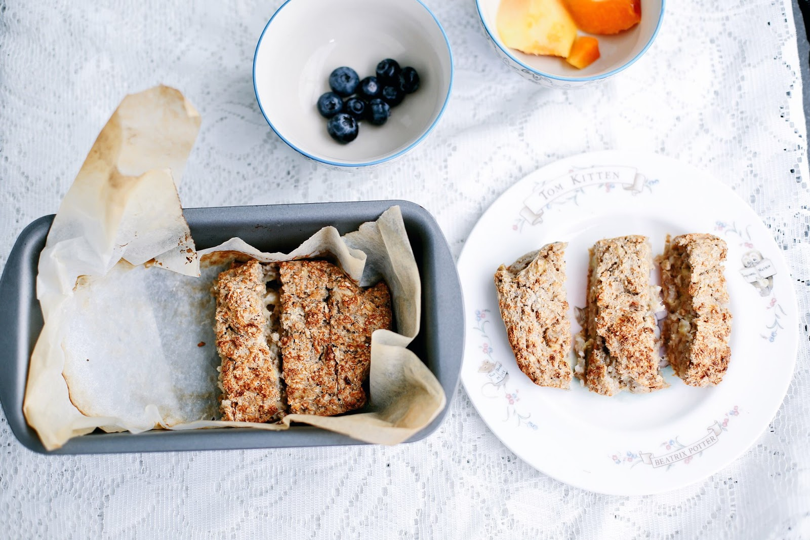 healthy easy banana bread
