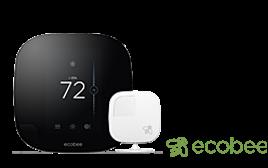 Ecobee Lutron Caseta WiFi Thermostat