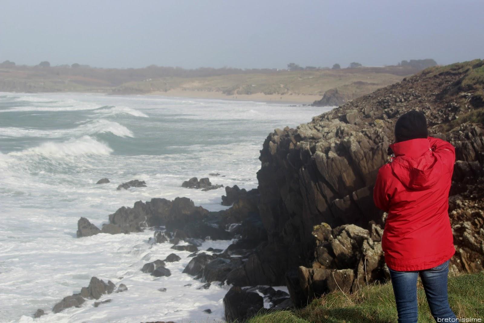 Atrakcje Bretanii - podziwianie sztormu