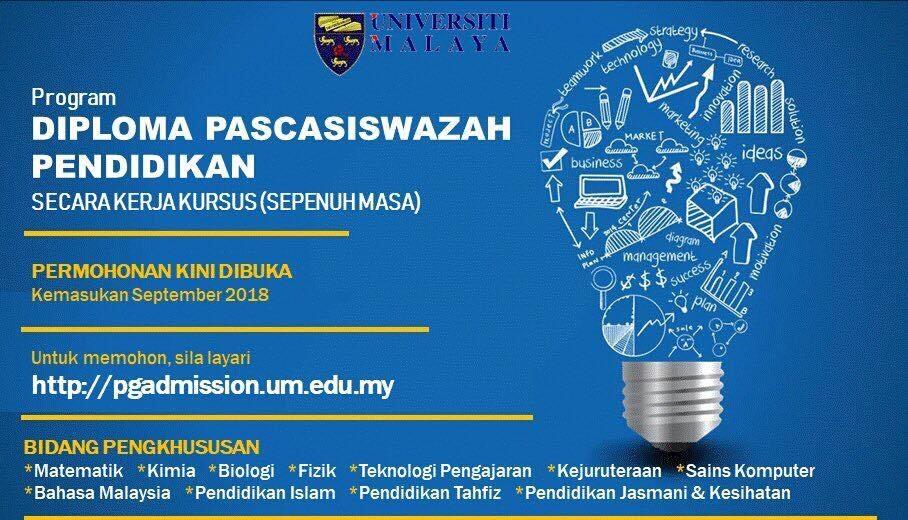 Permohonan Program Dpli Universiti Malaysia Um 2021 Online Semakan Upu