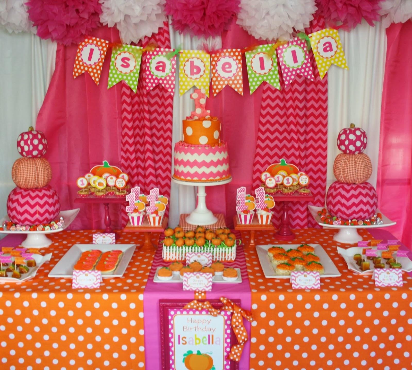 And Everything Sweet: Pink Pumpkin Party