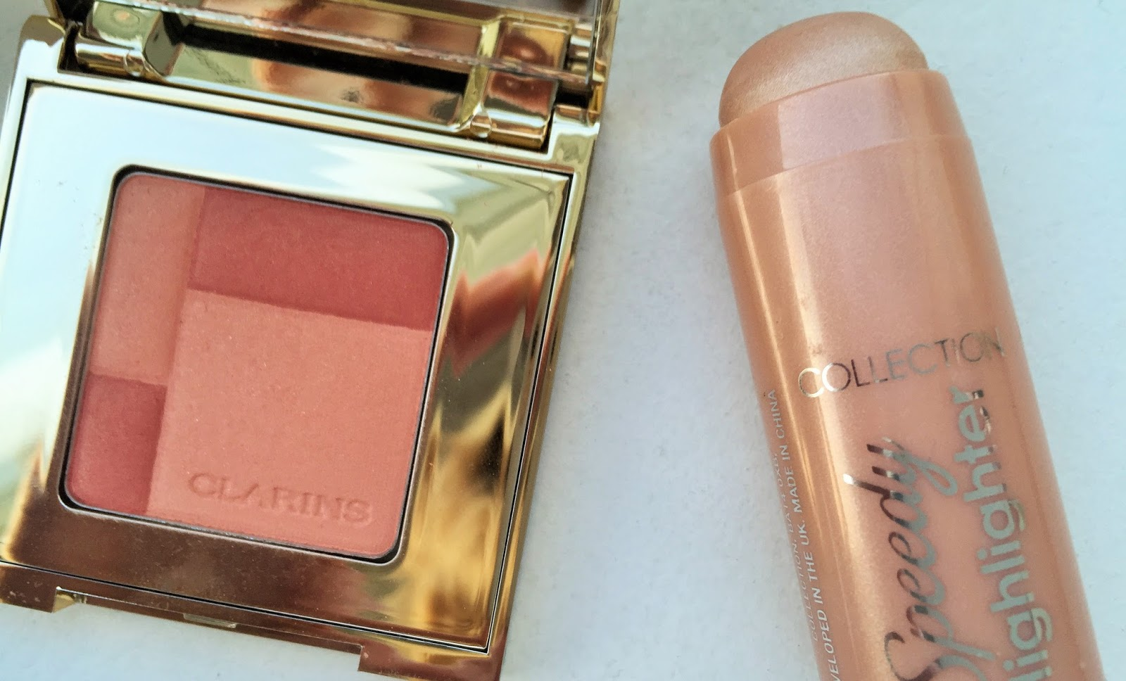 Clarins blush, Collection Speedy Highlighter