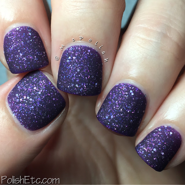 Native War Paints - Purple Reign Collection - McPolish - Aubergine Dreams