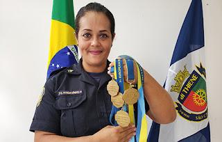 Atleta da GCM de São Caetano é ouro em levantamento de peso