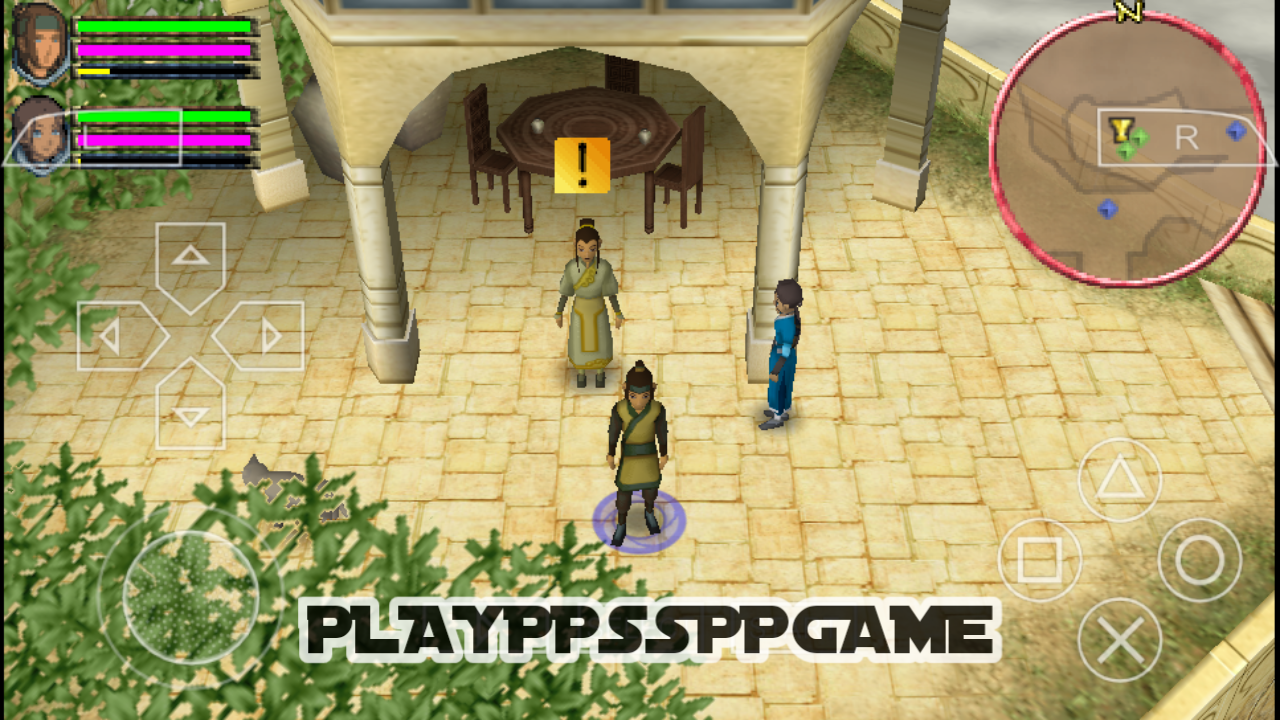 Avatar The Last Airbender PSP ISO PPSSPP For Android/iOS