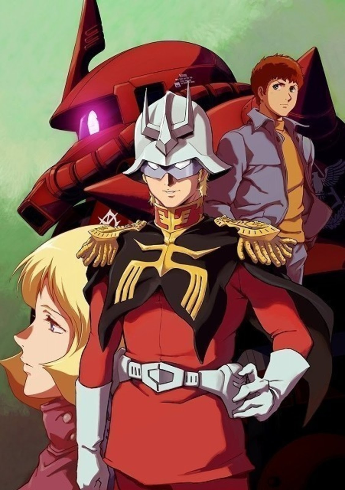 Mobile Suit Gundam the Origin – Eve of the Red Comet