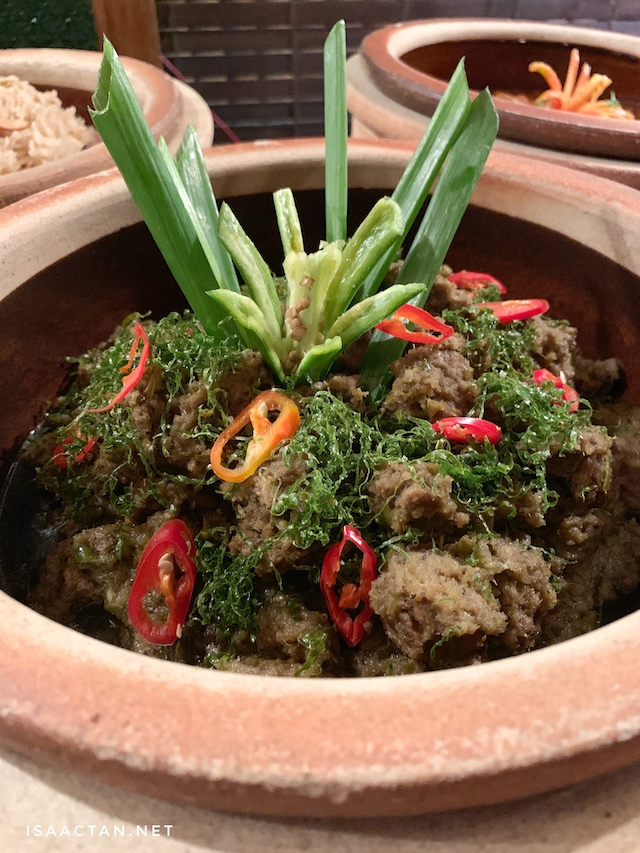 Delicious and recommended, Rendang Daging Hijau