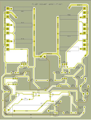 PCB Layout design Power AMplifier MJL21194