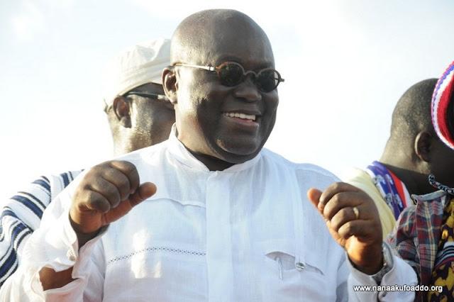 5 candidates congratulate Akufo-Addo except Mahama