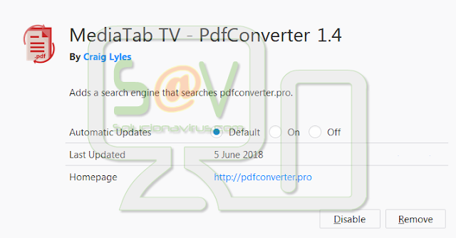 MediaTab TV - PdfConverter (Hijacker)
