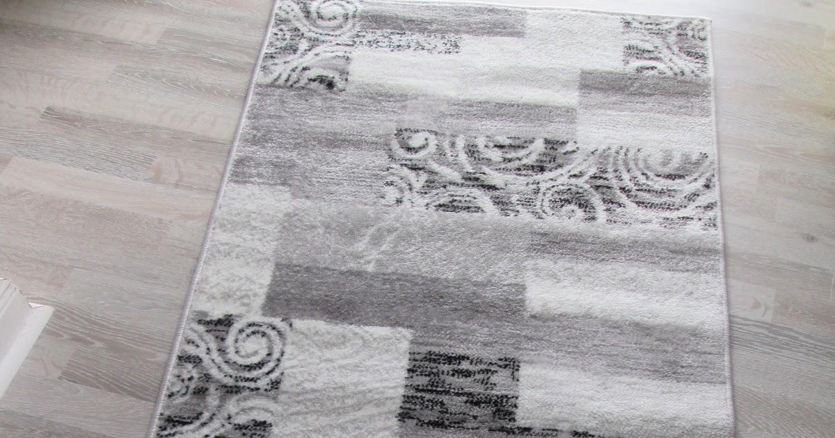 teppich patchwork design modern flur diele teppich grau creme. Black Bedroom Furniture Sets. Home Design Ideas