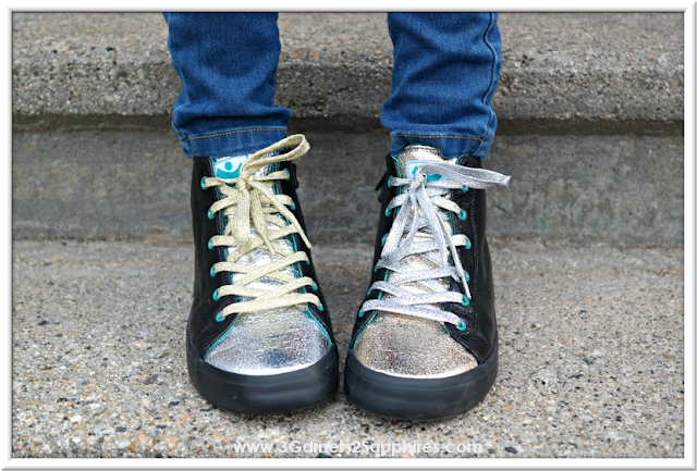 Spark hightop sneakers in Rule by Chooze Shoes  |  www.3Garnets2Sapphires.com
