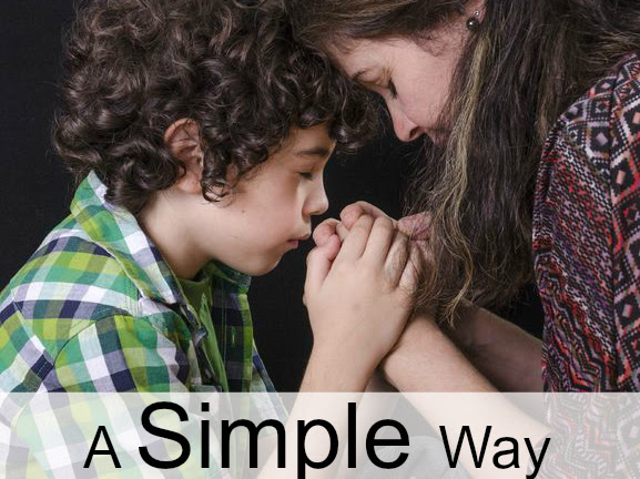 A Simple Way to Teach Children about Prayer