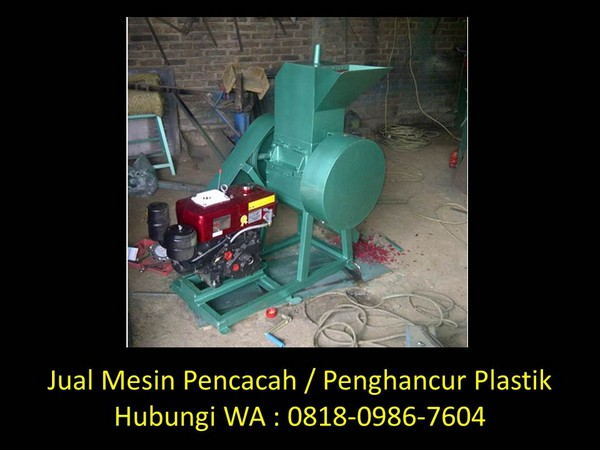 mesin penggiling plastik sederhana di bandung