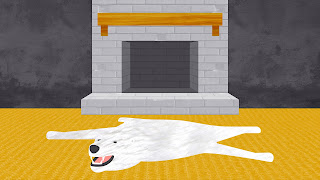 Dasar-dasar desain grafis tekstur atau texture fireplace