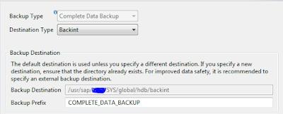Configuration and perfroming backups using netbackup for SAP HANA