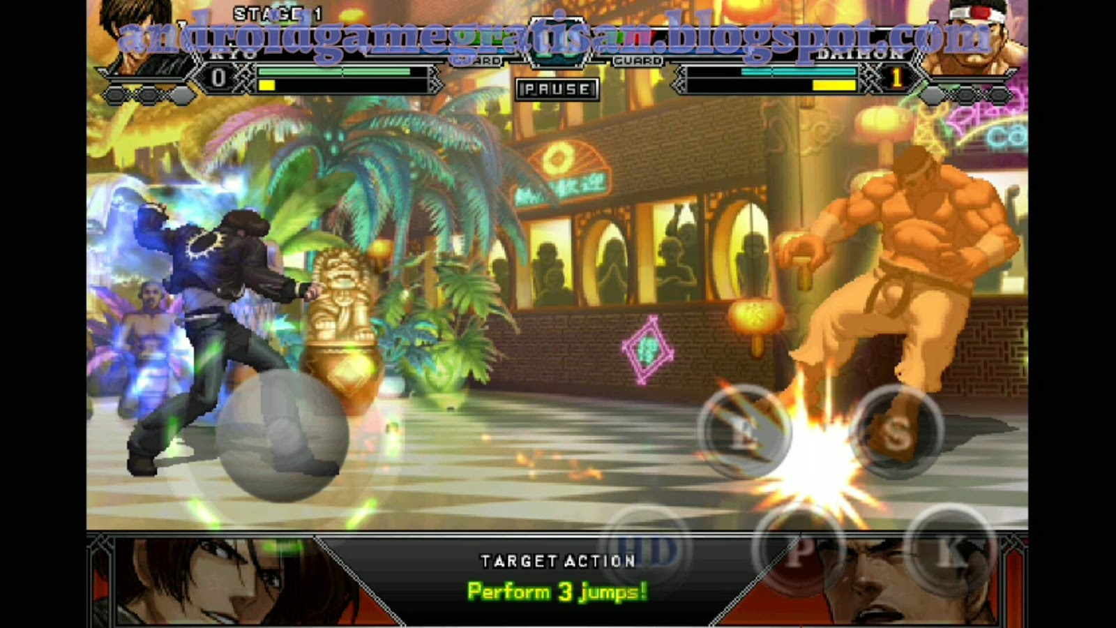 The King of Fighters - A 2012 apk + obb - REVIEW DAN ...