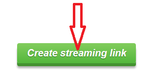 Create streaming link | Uptobox