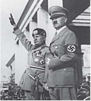Sejarah Lahirnya Naziisme Di Jerman, Fasisme Italia dan Militerisme Jepang