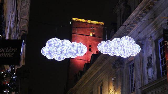 Dijon à Noël - La tour Philippe le Bon