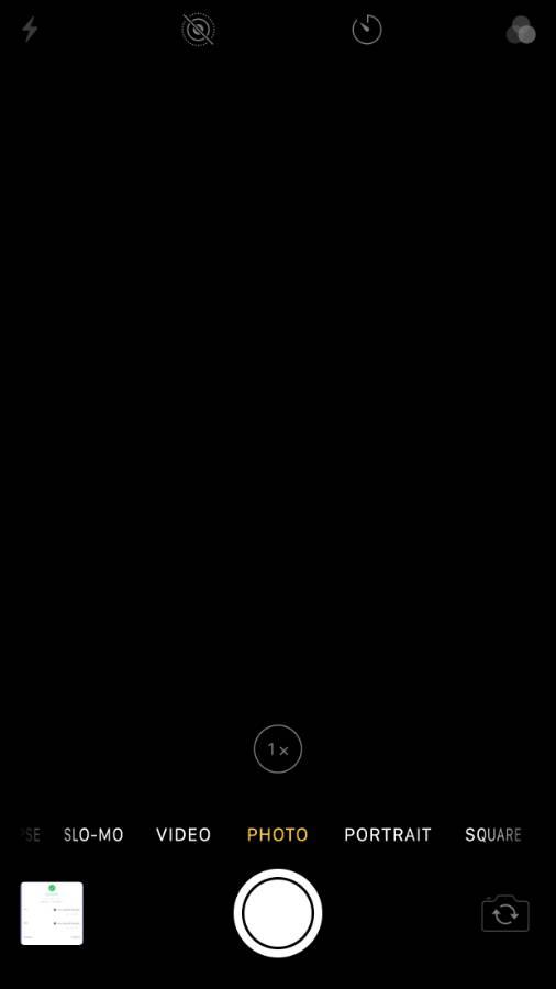 iPhone 8 plus/7+ back camera black screen issue