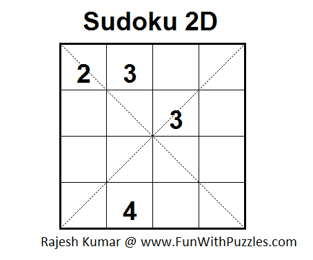 Sudoku 2D (Fun With Sudoku #14) - 4