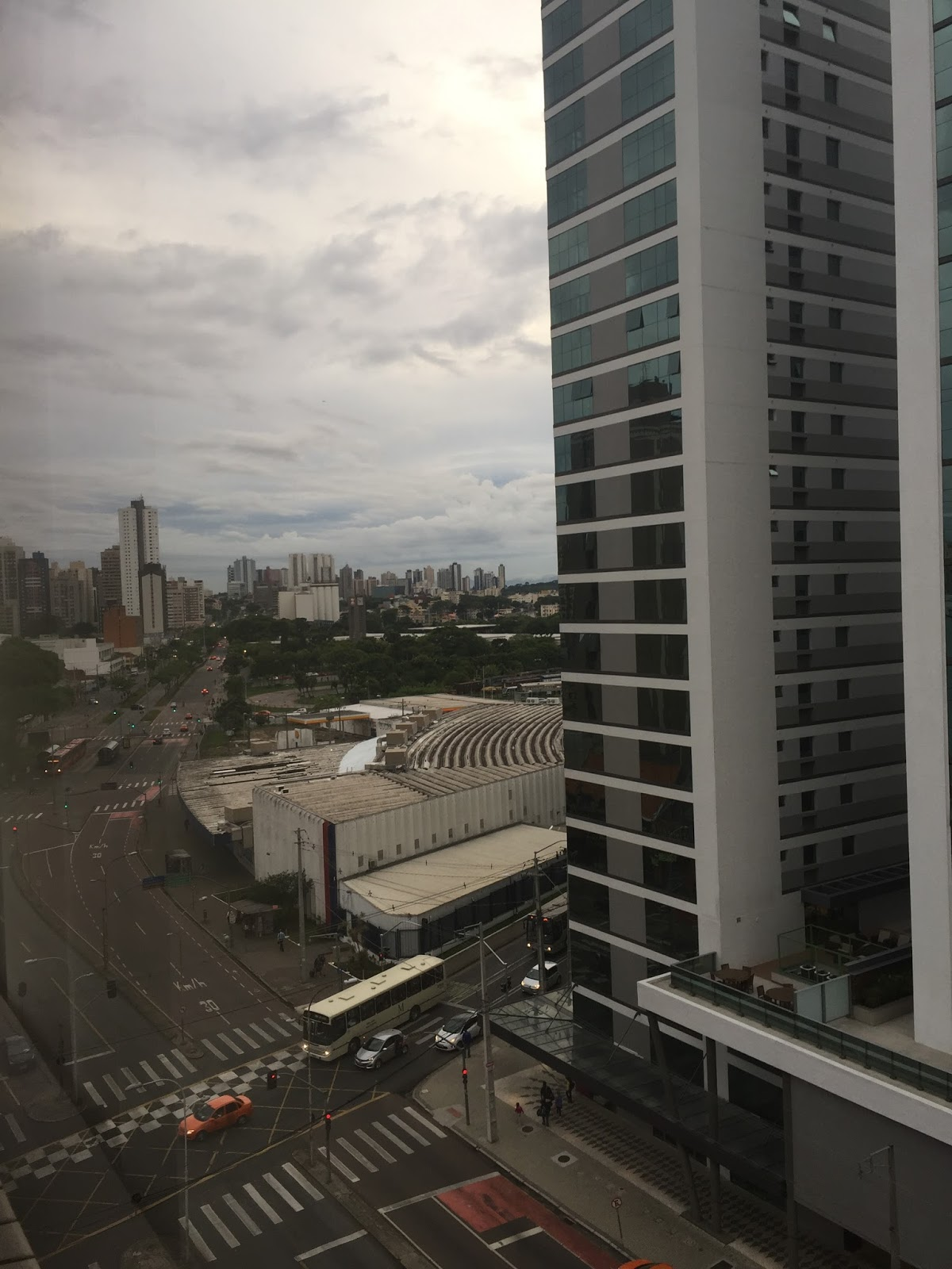 vista do apartamento do victoria villa hotel