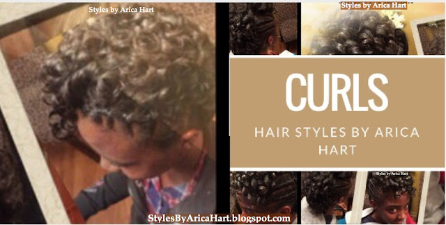 hairstyles with curls for black hair